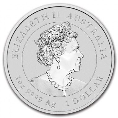 Moneda de Plata Año del Buey de Australia 2021