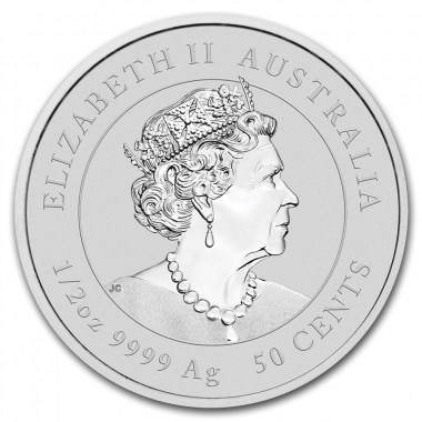 Moneda de Plata Año del Ratón de Australia 2020