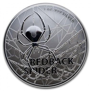 Moneda de Plata Araña Espalda Roja de Australia 2020 1 oz