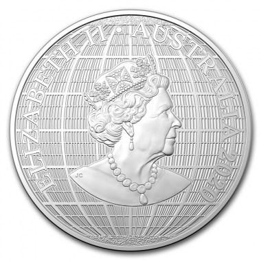 Moneda de Plata Bajo el Cielo del Sur de Australia 2020 1 oz