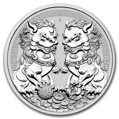 Moneda de Plata Doble Pixiu de Australia 2020 1 oz