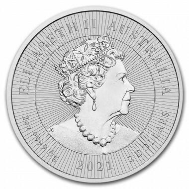 Moneda de Plata Ornitorrinco de Australia 2021 2 oz