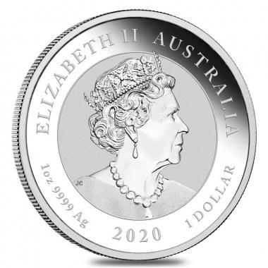 Moneda de Plata Toro y Oso de Australia 2020 1 oz