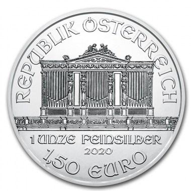 Moneda de Plata Filarmónica de Austria 2020 1 oz