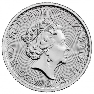 Moneda de Plata Britannia 2021 1/4 oz