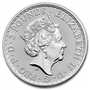 Moneda de Plata Britannia 2021 1 oz