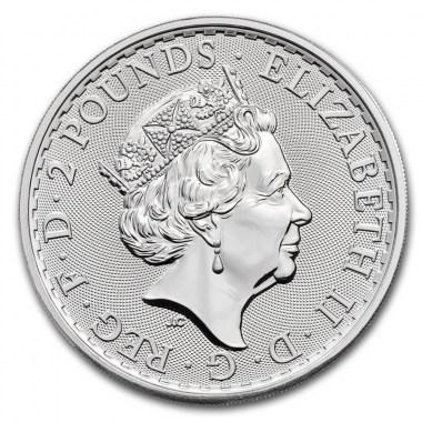 Moneda de Plata Britannia borde Oriental 2020 1 oz