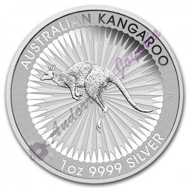 Moneda de Plata Canguro 1 oz años varios