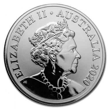 Moneda de Plata Canguro Rojo 2020 1 oz