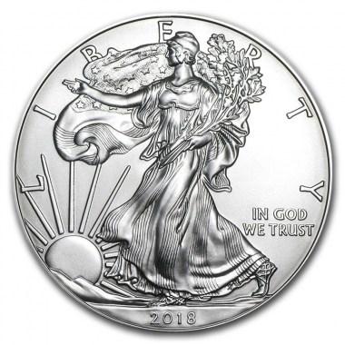 Moneda de Plata American Eagle 2018 1 oz
