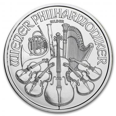Moneda Filarmonica Plata 1 Oz