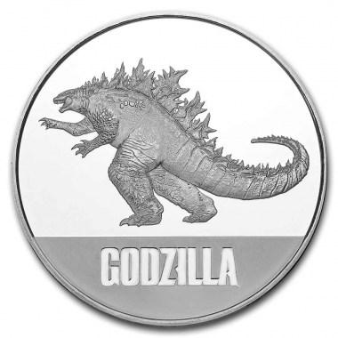 Moneda de Plata Godzilla 2021 1 oz