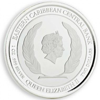 Moneda de Plata Paraíso del buceo de Granada 2018 1 oz