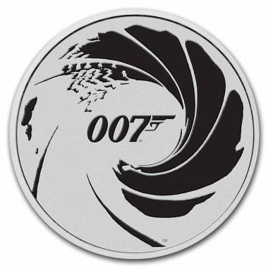 Moneda de Plata James Bond 007 2022 1 oz
