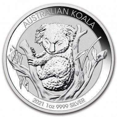 Moneda de Plata Koala 2021 1 oz
