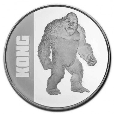 Moneda de Plata Kong 2021 1 oz