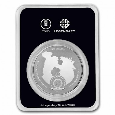 Moneda de Plata Kong Colorized 2021 1 oz