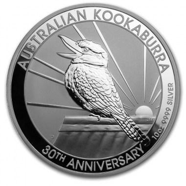 Moneda de Plata Kookaburra 2020 10 oz