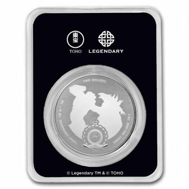 Moneda de Plata Mechagodzilla 2021 1 oz