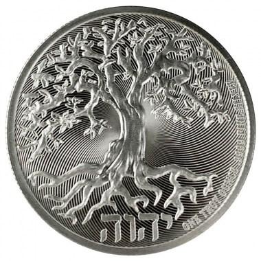 Moneda de Plata Árbol de la Vida de Niue 2020 1 oz