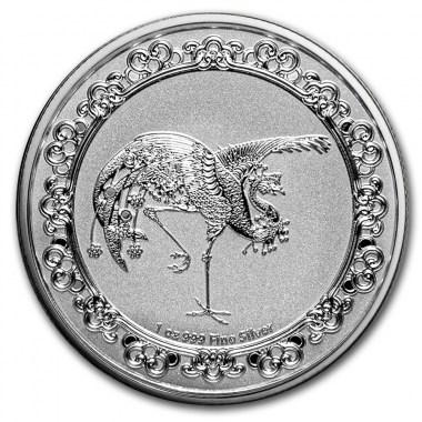 Moneda de Plata Fénix Rojo de Niue 2020 1 oz