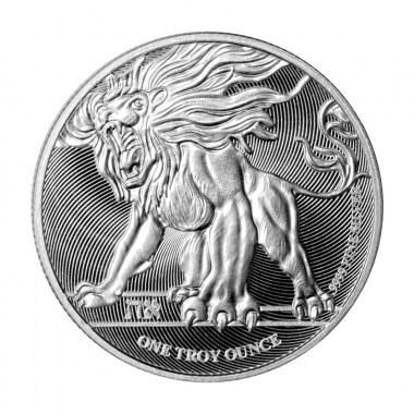 Moneda de Plata León Rugiendo de Niue 2019 1 oz