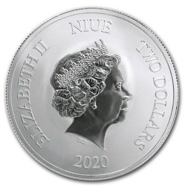 Moneda de Plata Lucky de Niue 2020 1 oz