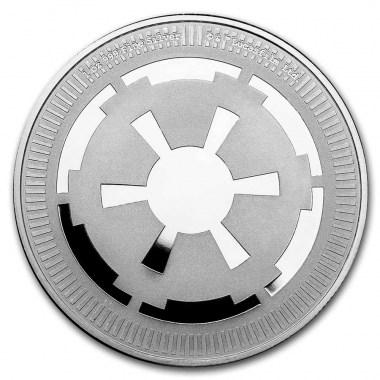Moneda de Plata Star Wars Imperio Galáctico de Niue 2021 1 oz