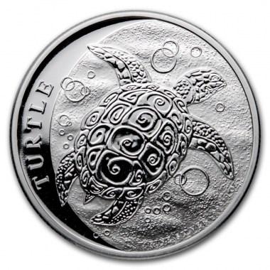 Moneda de Plata Tortuga Carey de Niue 2021 1 oz