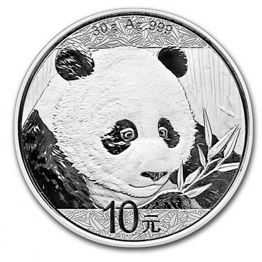 Moneda de Plata Panda de China 2018 30 g