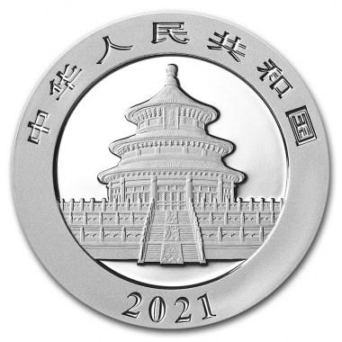 Moneda de Plata Panda Proof 2021 1 kg