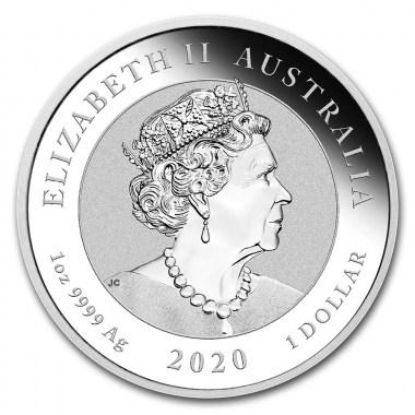 Moneda de Plata Quokka 2020 1 oz