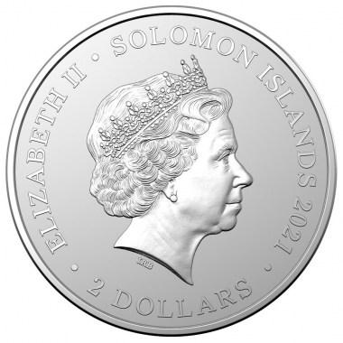Moneda de Plata Reinas Pirata Anne Bonny 2021 1 oz