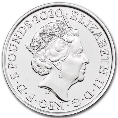 Moneda de Plata Elton John de Reino Unido 2020 1 oz