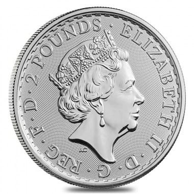 Moneda de Plata Valiant de Reino Unido 2020 1 oz