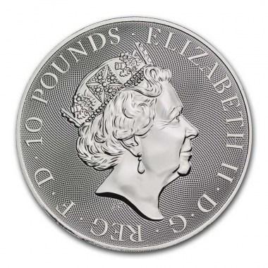 Moneda de Plata Valiant de Reino Unido 2021 10 oz