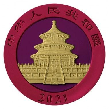 Moneda de Plata Space Metals II Panda 2021 30 g