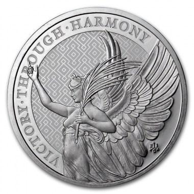 Moneda de Plata Virtudes de la Reina -Victoria- 2021 1 oz