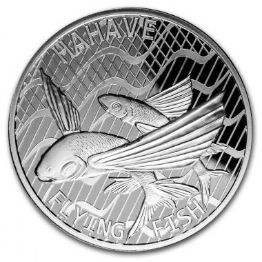 Moneda de Plata Pez Volador de Tokelau 2020 1 oz