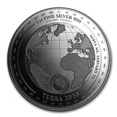 No hay imagen establecida Moneda de Plata Terra de Tokelau 2020 1 oz
