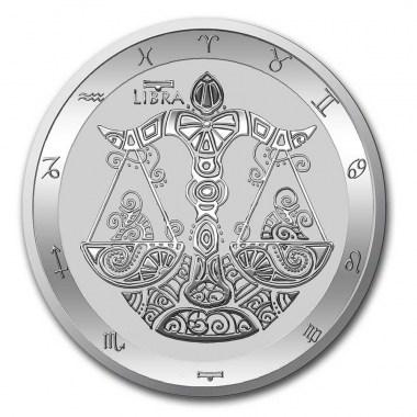 Moneda de Plata Zodiaco - Libra de Tokelau 2021 1 oz