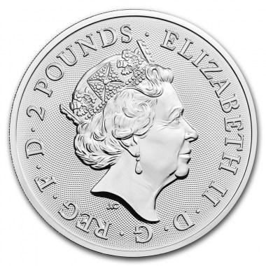 Moneda de Plata Kraken 2020 2 oz