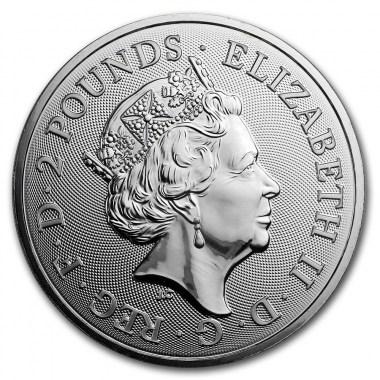 Moneda de Plata The Royal Arms 2020 1 oz