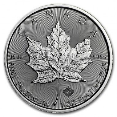 Moneda de Platino Maple Leaf  2021 1 oz