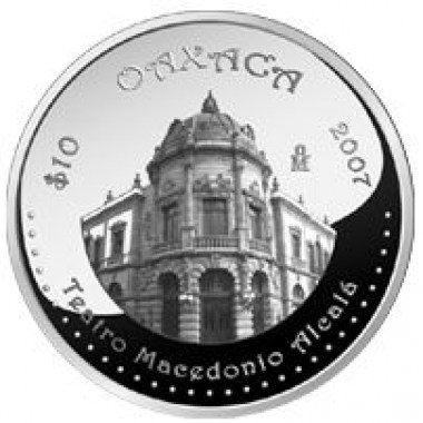 Moneda Oaxaca 2 Fase Proof 1 Oz