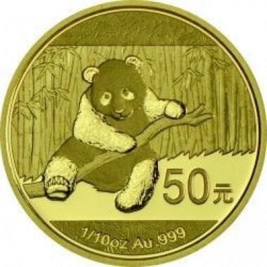 Moneda Panda 1/10 Oz Oro