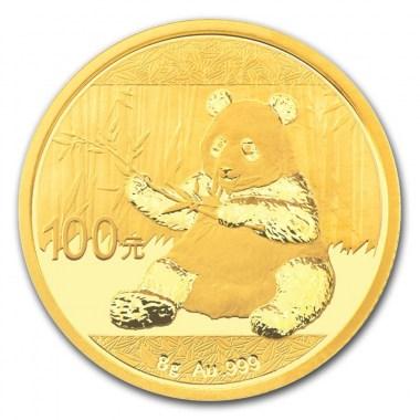 Moneda de Oro Panda 2017 8 g