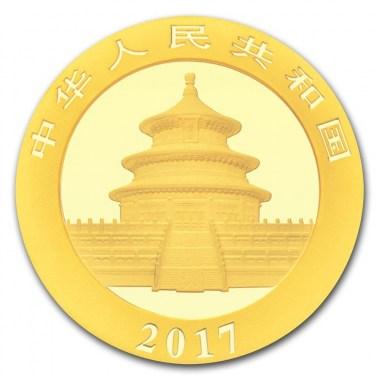 Moneda de Oro Panda 2017 15 g