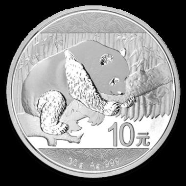 Moneda Panda 2016 Plata 30 g