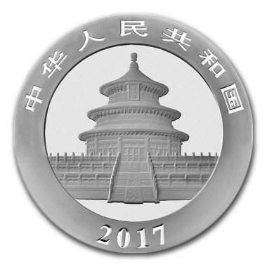 Moneda de Plata Panda 2017 30 g